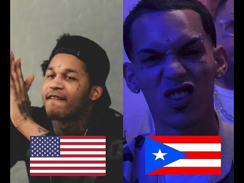English Rap Vs Spanish Rap/Trap (Fredo Santana ,Darell...