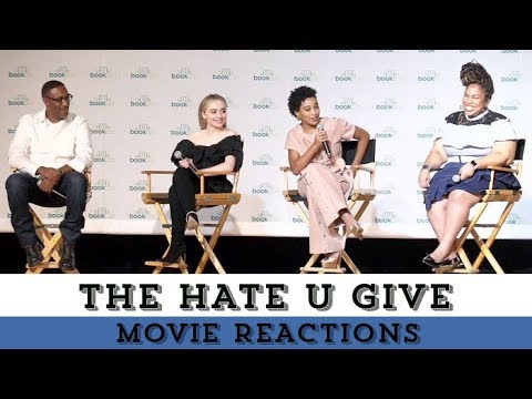 Amandla Stenberg, Angie Thomas, & More React to Seeing THE HATE U GIVE Trailer Mp3