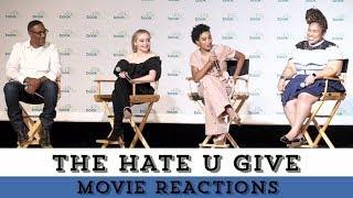 Amandla Stenberg, Angie Thomas, & More React to Seeing THE HATE U GIVE Trailer