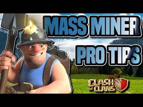 TH10 MASS MINER ATTACK STRATEGY GUIDE | PRO TIPS | Planning war attacks | Clash of Clans
