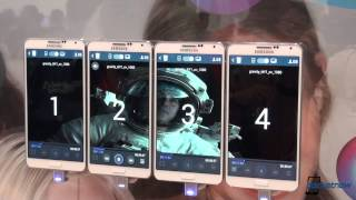 Samsung Group Play Video Sharing Demo at IFA 2013(Starting with the Samsung Galaxy S 4, multiple owners of the same phone (we're referring to the S 4) were able to experience the same tunes playing, at the ..., 2013-09-07T15:52:41.000Z)