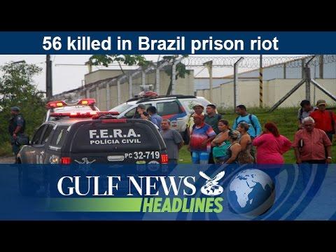 56 killed in Brazil prison riot - GN Headlines