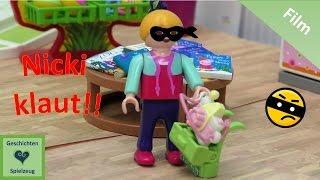Playmobil Film NICKI KLAUT! 👀😨 Playmobil Geschichten mit Familie Miller