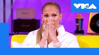 Jennifer Lopez Gets Emotional About Receiving Video Vanguard Award | 2018 Video Music Awards