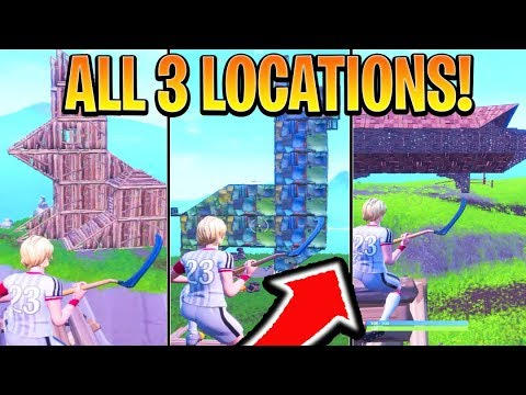 Visit A Wooden Rabbit A Stone Pig A Metal Llama Location Fortnite Season 8 Week 6 Challenges
