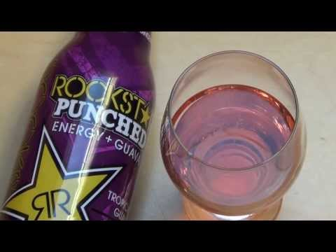 Rockstar Punched Engergy + Guava