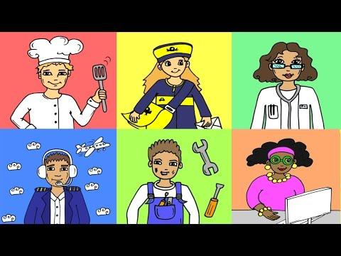 Learn German: 20 professions