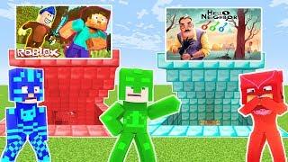 Roblox Hello Neighbor Oyun Portallari Minecraft
