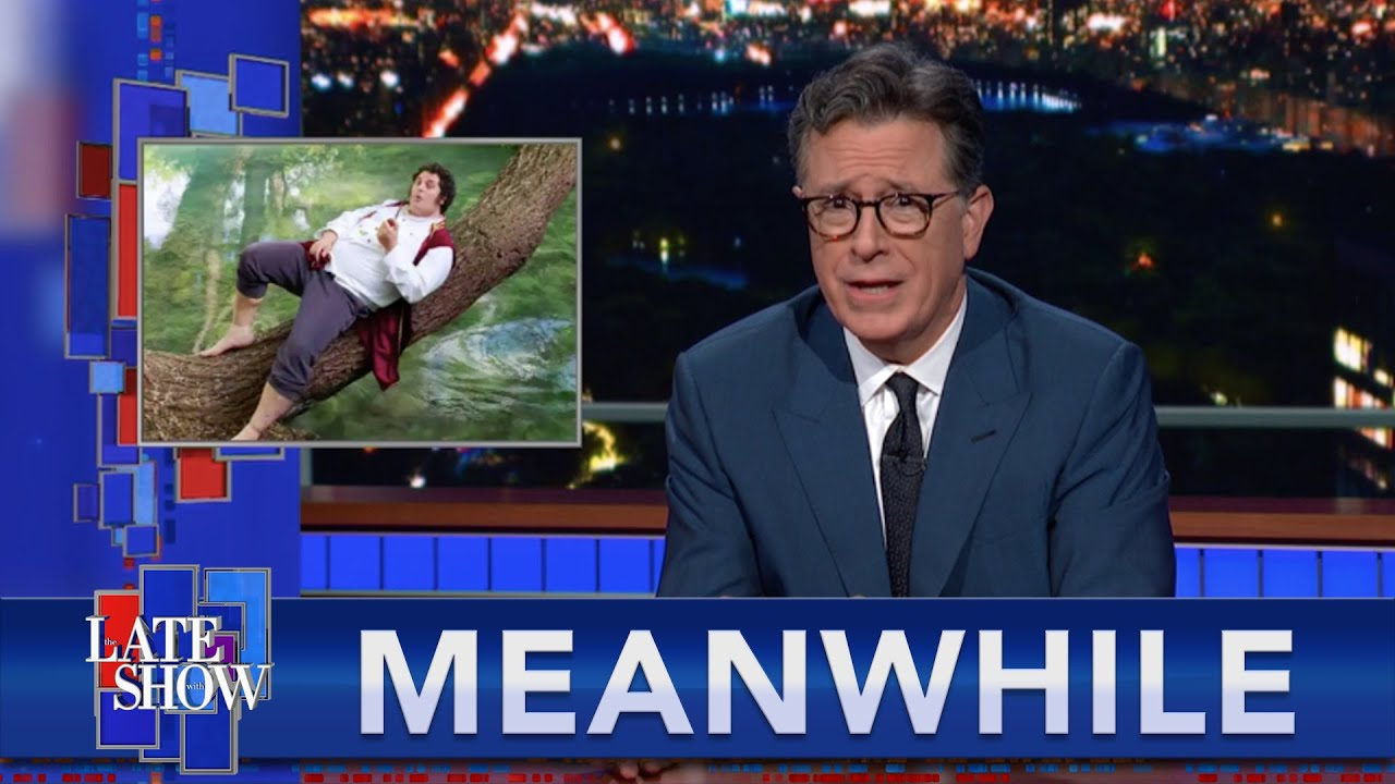 """Download Meanwhile... Is This Man A Bigger """"Lord of the Rings"""" Fan Than Stephen Colbert?"""