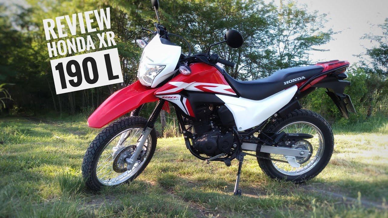 Review Honda Xr 190 L Youtube