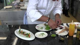 3 michelin star klaus erfort makes his signature dish