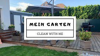 Gartenroutine / Clean with me my Garden