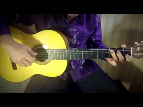 Gugur Bunga - Ismail Marzuki (Lagu Wajib Nasional) | Fingerstyle Cover By Ilham Andika