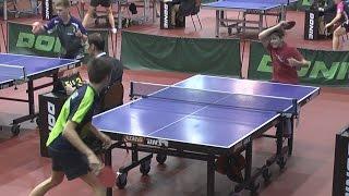 Владимир АНУФРИЕВ vs Андрей ЦВЕТКОВ (Полная версия), Настольный теннис, Table Tennis