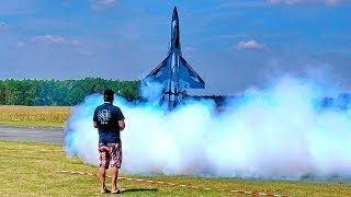 EXTREME STUNNING !!! CHENGDU FC-1 RC TURBINE MODEL JET FLIGHT SHOW !!! WOW !!!