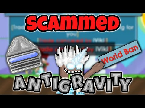Growtopia | SCAMMED Antigravity Generator *prank*