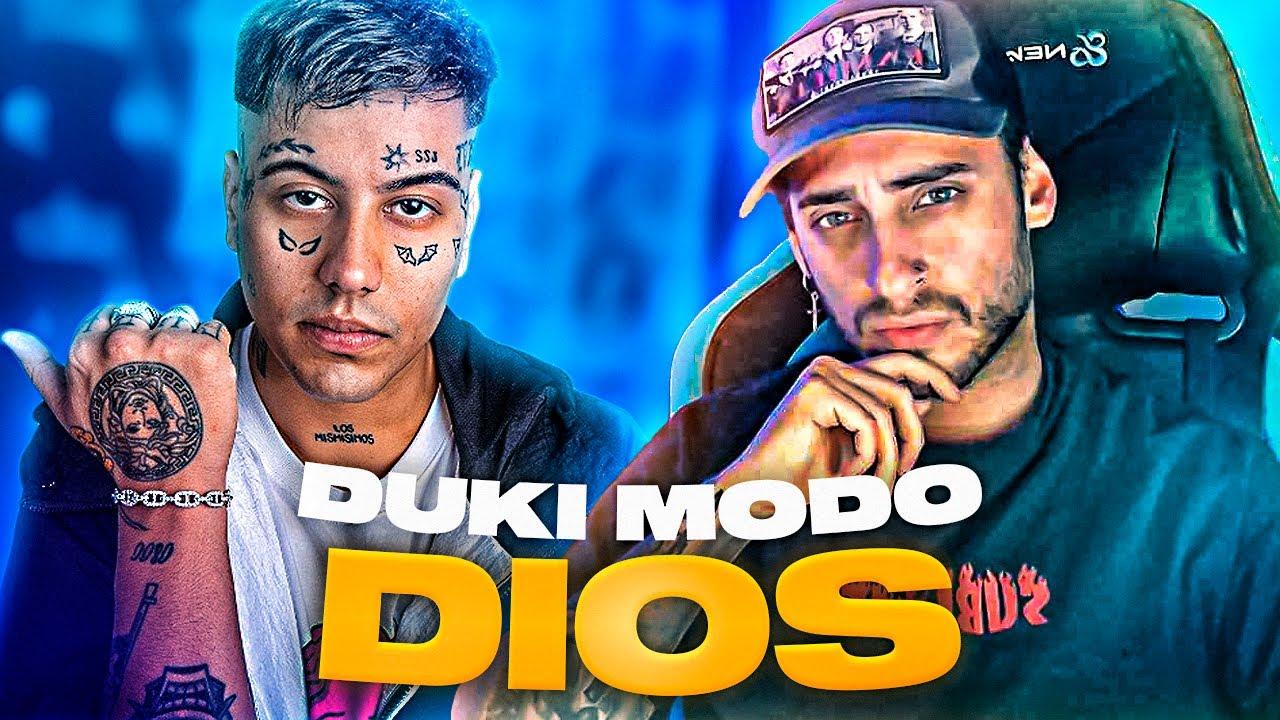 "BLON REACCIONA A DUKI EN MODO DIOS | ""FLOW EN ESTADO PURO"""
