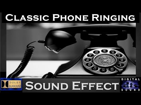 Classic Phone Ringing Sound Effect | High Quality Audio