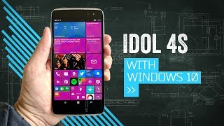 IDOL 4S: A Pretty Windows Phone With VR (That You Probably Shouldn't Buy)