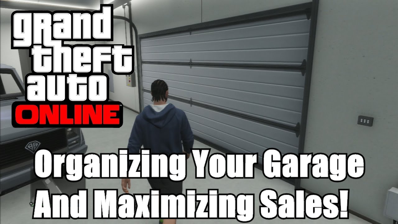 gta online how to sell garage