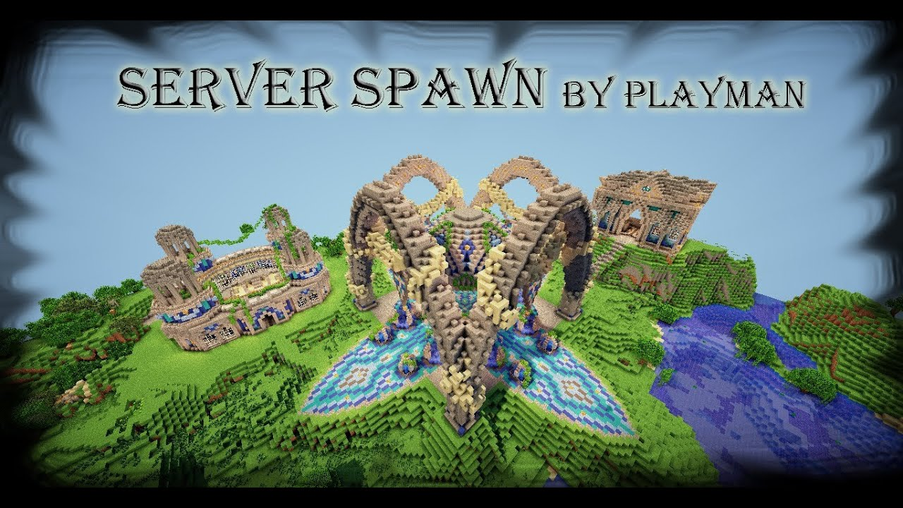 Minecraft server spawn with schematic and download youtube gumiabroncs Gallery