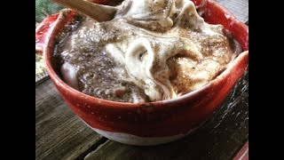 Banana Ice Cream / Coconut Vanilla Sauce