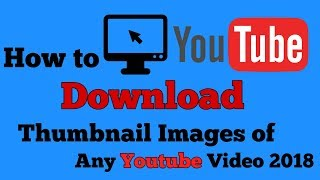 How to Get Youtube Video Thumbnail