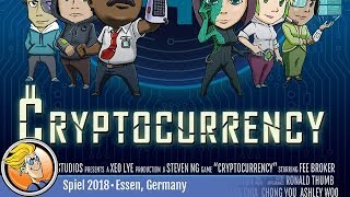 Cryptocurrency — game overview at SPIEL '18