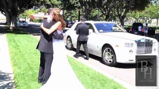 The Beverly Hills Luxury Motors Excluxive Bride and Groom