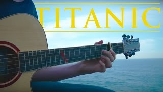 My Heart Will Go On - Titanic Theme [Fingerstyle Guitar Cover by Eddie van der Meer]