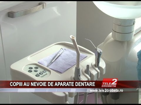 COPIII AU NEVOIE DE APARATE DENTARE