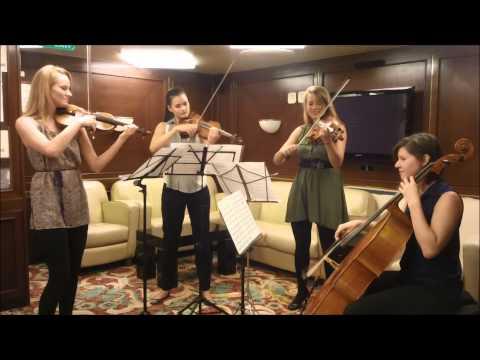 Funkytown string quartet cover