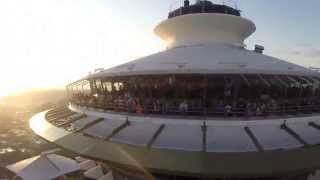 amazing drone footage of the Seattle Space Needle
