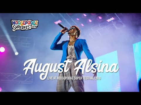August Alsina No Love  at Hodgepodge 2018