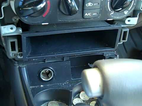 HOW TO INSTALL A CD PLAYER IN A 2000-2005 NISSAN SENTRA ...