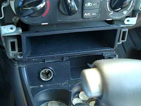 Nissan Almera 2003 Radio Wiring Diagram 1993 Dodge Dakota Fuse Box How To Install A Cd Player In 2000 2005 Sentra Youtube