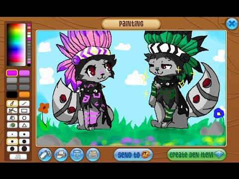 how to make a masterpiece on animal jam