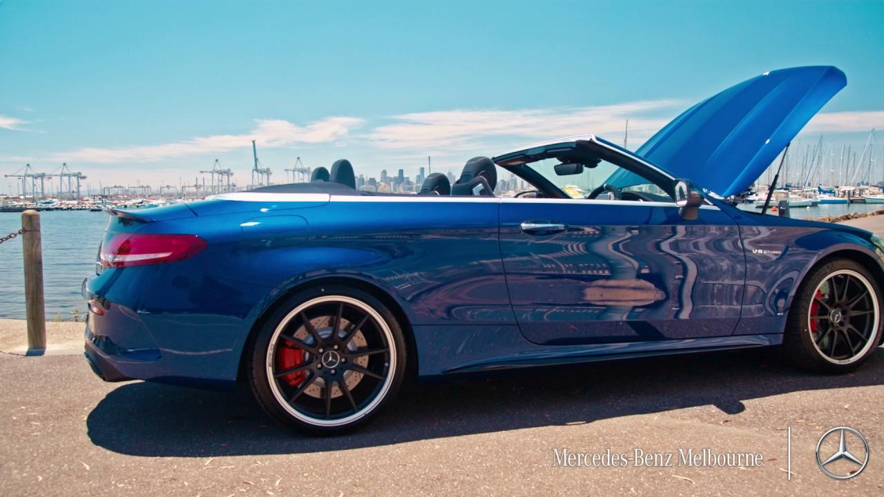 Mercedes-Benz Melbourne C 63 S Cabriolet AMG Review Video ...