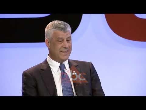 Hashim Thaci perballe analisteve kosovare dhe shqiptare