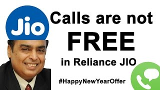Reliance Jio Calls are not FREE - 4G Data is used while calling in india #UrIndianConsumer
