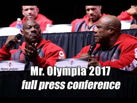 Mr. Olympia 2017 - Complete Press Conference HD