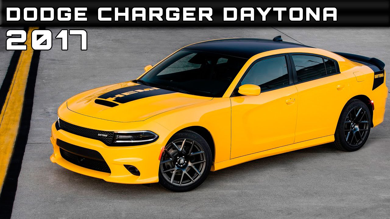2017 Dodge Charger Daytona Review Rendered Price Specs Release Date