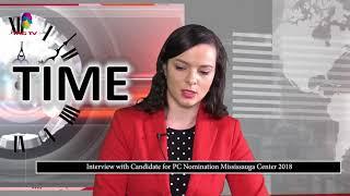 Mississauga PC Party Nomination Candidate Natalia Kusendova shares her views @TAG TV