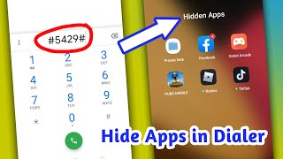 How To Hide Apps In Dialer In Realme, Oppo, Vivo, Redmi, & Samsung Phones🔥 screenshot 4