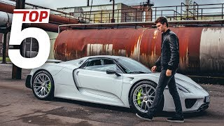 Porsche Top 5 –Most stunning features of the 918 Spyder with Ansel Elgort & Lars Kern thumbnail