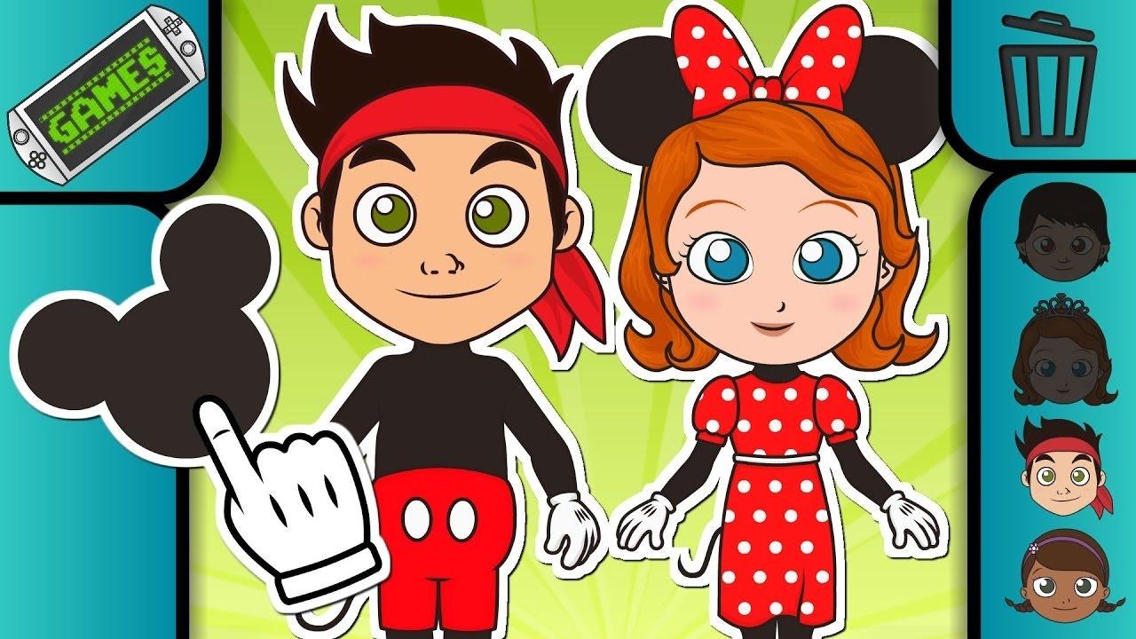 DISNEY JUNIOR as Mickey Mouse Club House ❤ Disney Junior Cartoons Games for kids