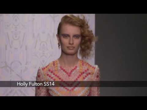 Holly Fulton London Fashion Week show: Holly Fulton SS14 Collection
