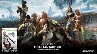 #DirectoXbox Final Fantasy XIII en Xbox One X