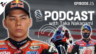 Taka Nakagami: being honest with yourself & learning from Marc Marquez | Last On The Brakes Podcast