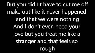Somebody That I Used To Know- Gotye Ft. Kimbra Lyrics